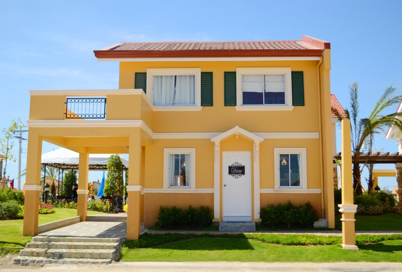 Camella model house drina